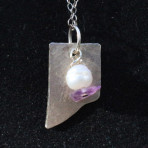 Pearl and Amethyst Necklace